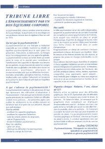 Article de presse, Articulo de prensa